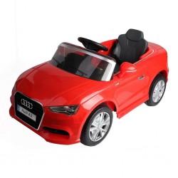 Coche Infantil Eléctrico Audi A3 Rojo