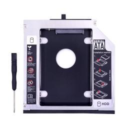 SATA Aluminio 3.0 HDD Caddy 9.5mm