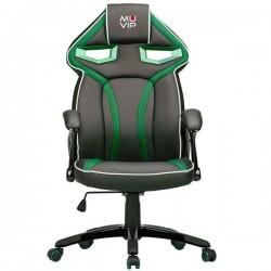 Silla Gaming GM300 Negro/Verde MUVIP