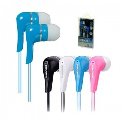 Auriculares Urban In-Ear Azul COOLSOUND