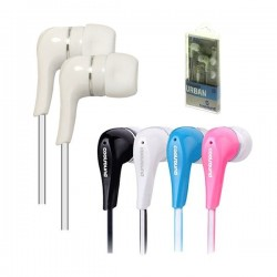Auriculares Urban In-Ear Blanco Coolsound