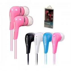 Auriculares Urban In-Ear Rosa Coolsound