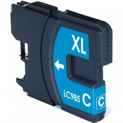 Cart. Brother LC985XL Cyan 13ml (reman.)