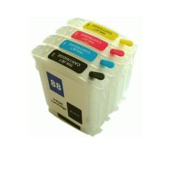 Cart. HP N88 C9387A Magenta (reman.)