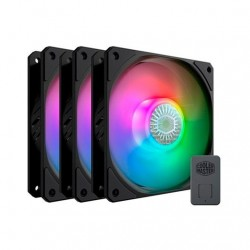 VENTILADOR 120X120 COOLERMASTER SICKLEFLOW 120 ARGB 3UD