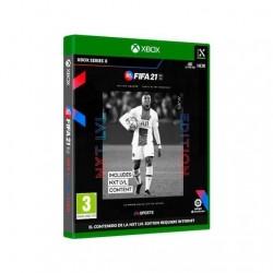 JUEGO MICROSOFT XBOX SX FIFA 21 NEXT LEVEL Incluye: Sobres/