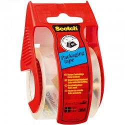Dispensador de cinta adhesiva de embalaje scotch - 3m e5020d/ 4.8cm x 20m