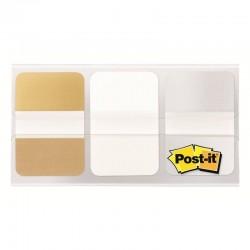 Dispensador de marcadores post-it index scotch - 3m/ 2.4 x 3.8cm/ post-it 3 x 12