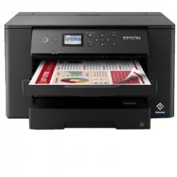 Impresora a3+ epson workforce wf-7310dtw wifi/ dúplex/ negra