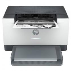 Impresora láser monocromo hp laserjet m209dw wifi/ dúplex/ blanca