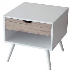 Buck eurosilla college - 45 x 45 x 45 cm / acabado blanco y madera