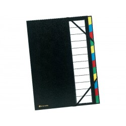 CLAIREFONTAINE CLASIF.TAPA DURA 12 POS.NG55341E
