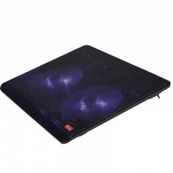 Soporte refrigerante ngs cooler jetstand para portátiles hasta 15.6'/ iluminación led