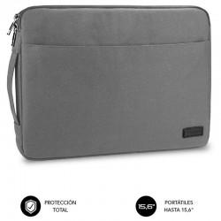 Funda subblim urban laptop sleeve para portátiles hasta 15.6'/ gris