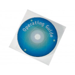 DURABLE FUNDAS CD DVD R PACK 25 CON SOLAPA 5245 19
