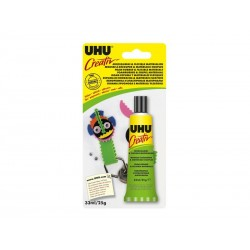 UHU CREATIVO GOMA EVA INCOLOR 33ML 62931