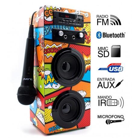 JoyBox Karaoke Bluetooth Comic Biwond