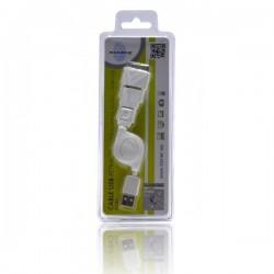 CABLE LIGHTNING/USB KL-TECH KCR1 APPLE 3 EN 1