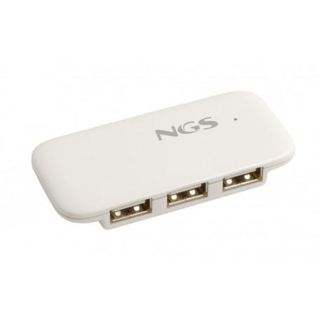 HUB 4 PUERTOS USB 2.0 NGS iHUB4