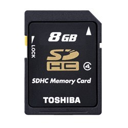 MEM MICRO SD 8GB TOSHIBA CL4 + ADAPT SD