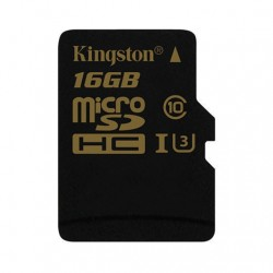 MEM MICROSD GOLD 16GB KINGSTON UHS-I CL3(U3)