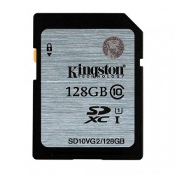 MEMORIA SD 128GB SDXC KINGSTON CLASE 10 UHS-I (U1)
