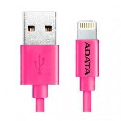 CABLE LIGHTNING A USB(A) ADATA ROSADO