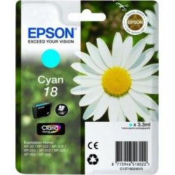 CARTUCHO ORIG EPSON T180240 CIAN