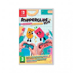 JUEGO NINTENDO SWITCH SNIPPERCLIPS
