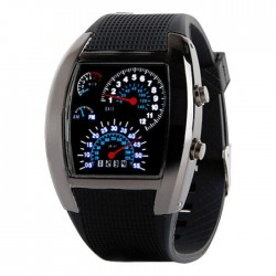 Reloj Digital Sport LED Negro