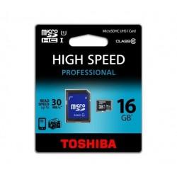 MicroSD 16GB Clase 10 Toshiba