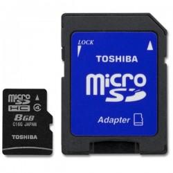 MicroSD 8GB Clase4 Toshiba