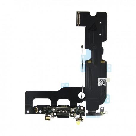 Flex Conector Carga Lightning Iphone 7 Plus Negro