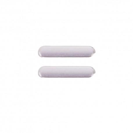 Botón Volumen Ipad Mini 4 Plata