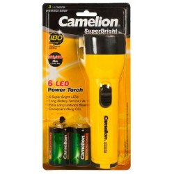 Linterna Superbright 6 LED Camelion