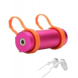 Reproductor Acuático 8GB Swimming MP3 FM Rosa