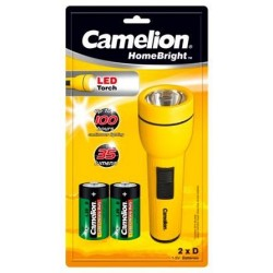 Linterna LED Homebright 3V 2xD/R20 Camelion