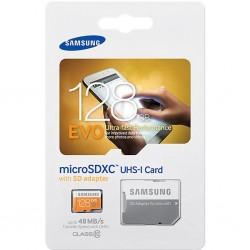 Samsung MicroSD EVO 128GB Clase 10 + Adaptador SDHC