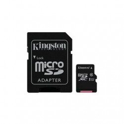 MEM MICRO SD 16GB KINGSTON CANVAS CL10 UHS-I+ADAPT