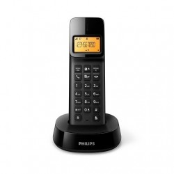 TELEF. INALAMBRICO DECT DIGITAL PHILIPS D1401B/34