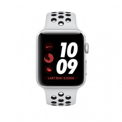 APPLE WATCH NIKE+ 38MM SILVER ALUMINIUM CASE