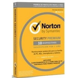 SOFTWARE NORTON SECURITY PREMIUM 3.0 25GB ES 1 USER 1