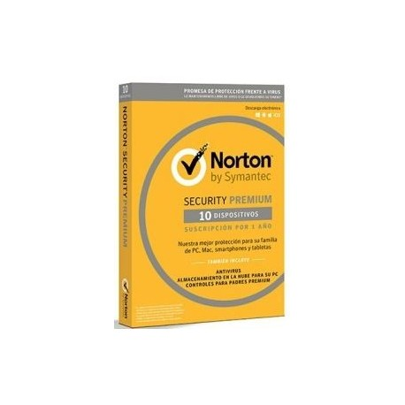 SOFTWARE NORTON SECURITY PREMIUM 3.0 25GB ES 1 USER 1